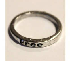 Rustic Make A Wish Stackable Rings - Free